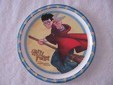 "NEW Harry Potter & the Sorcerer's Stone Melamine 8"" Plate 2001 Zak Designs"
