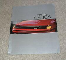 Toyota Celica 2.0 GT Brochure 1985-1986