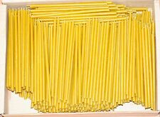 "500 -  6 1/4"" - Natural Beeswax Taper Candles Honey Scent"