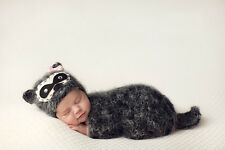 Newborn-12M Baby Girl Boy Crochet Knit Little Mouse Costume Photo Props Outfits