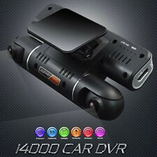 Full HD 1080P Dual Lens Car DVR Driving Video Recorder Camcorder Camera Dash Cam