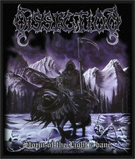 Dissection Patch Storm Of The Light´s Bane(SP2865)Dissection Aufnäher  Gewebt !!