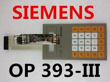 NEW Membrane Keypad OP 393 III SIEMENS 6ES5 393-0UA13 6ES5393-0UA13