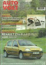 Auto Volt - Gennaio 2000 - No.763 - Renault Clio II 1.9 D