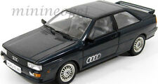 SUN STAR 1981 81 AUDI QUATTRO COUPE 1/18 DIECAST DARK BLUE