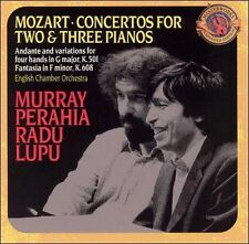 PERAHIA / LUPU / MOZART / ECO-PIANO CONCERTOS FOR TWO & THREE PIANOS (RMSTCD NEW