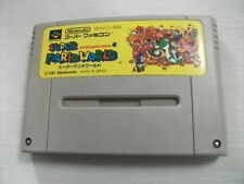 Nintendo Super Famicom Super Mario World Super Mario Bros 4 Japan SFC SNES