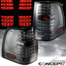 2003-2006 Ford Expedition LED tail lights Light smoked lens w. chrome housing