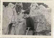 PHOTO ANCIENNE - VINTAGE SNAPSHOT - SPORT MONTAGNE ESCALADE CORDÉE - MOUNTAIN