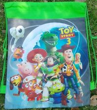 New Toy Story Backpack Swimming Clothes Environmental Toy Drawstring Bag Gift a