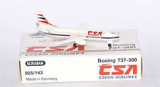 Schabak Boeing 737-300 CSA Czech Airlines in 1:600 scale