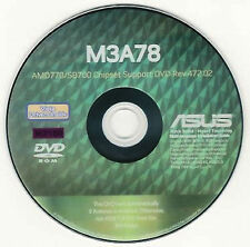 ASUS M3A78 Motherboard Drivers Installation Disk M2180