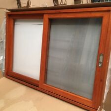 SLIDING WINDOW TIMBER, SOLID CEDAR WINDOW, 1800 x 1200, 6MM GLASS, PRE ORDER