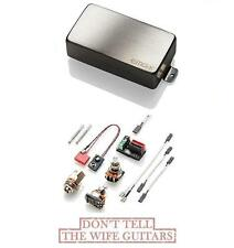 EMG 60AX BRUSHED CHROME ACTIVE HUMBUCKER PICKUP ( FREE WORLDWIDE SHIPPING )