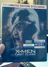 X-Men: First Class(Blu-ray Disc,2016,Include DigitalCopy SteelBook)NEW- Free S&H