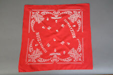 Hells Angels Tucson, AZ USA - Support 2SON 81 Crossed Hammers - Red Bandana