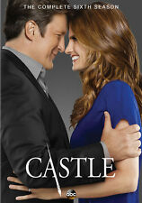 Castle: The Complete Sixth Season (DVD,2014)