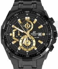 Imported Casio Edifice Men's Wristwatch - EFR-539BK FULL BLACK CHRONOGRAPH