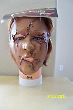 ADULT SERIAL KILLER 27 CREEPY SCARY CRAZY INSANE LATEX FACE MASK COSTUME TB25527