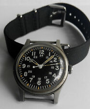 US Military Watch Hamilton GG-W-113 W/Hack Issued In 1977