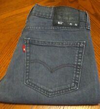 LEVIS 511 Skinny Jeans Sz 31x32 (31x29.5) Red Tab Quality Denim Nice!