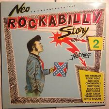 VARIOUS • Neo Rockabilly Story Vol.2• Vinile LP • 1987 Rockhouse
