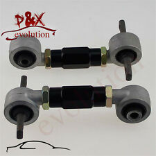 Rear Adjustable Camber Arms Kit for Honda CIVIC 92-95 Acura Integra EG/EK black