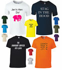 DeMina Custom T-Shirt Printing Design Your Own TShirts Stag Hen workwear