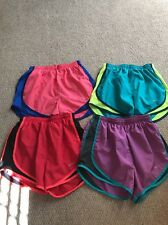 Lot of 4 XS Nike Tempo Running Shorts with Liners Red, Blue & Black