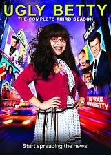 Ugly Betty - Season 3 [DVD] America Ferrera, Eric Mabius Brand New and Sealed