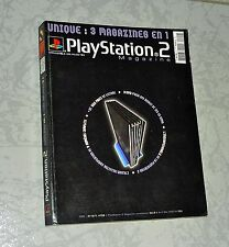 LIVRE GUIDE PLAY STATION 2 3 MAGAZINE EN 1