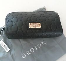 NEW RRP$125 OROTON Roche Beauty Case Cosmetic Toiletry Make Up Bag Dust Bag