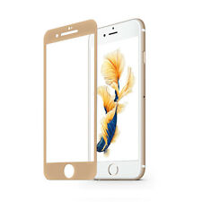 3D Full Cover Curved Round Temper Glass Film Screen Protector for iPhone 7 Gold