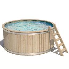 ISIDOR Piscina rotonda in Legno Vasca Nuotare Swimmingpool