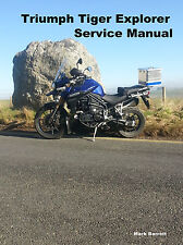 TRIUMPH Tiger 1200 Explorer Owners Manual de taller de servicio
