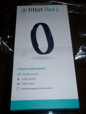 NEW IN BOX FITBIT FLEX 2 FITNESS WRISTBAND NAVY - Free Ship!