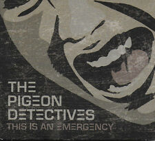 The Pigeon Detectives - This is an Emergency - Digipak CD - **NEW - SEALED**