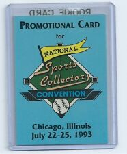 Shaquille O'Neal 1993 Chicago National Sports Collectors Convention Card