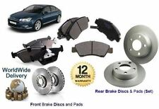 FOR CITROEN C5 TOURER 1.6 1.8 2.0HDi 2008-  FRONT & REAR BRAKE DISCS & PADS SET