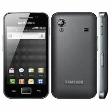Samsung GALAXY Ace GT-S5830 - Onyx Black Unlocked Smartphone New - Phone only