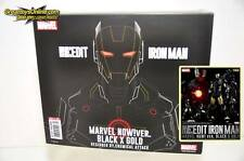 SEN-TI-NEL RE:EDIT #06 IRON MAN MARVEL NOW! VER. BLACK X GOLD ACTION FIGURE