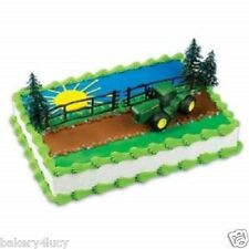 TRACTOR CAKE KIT FARMER BOY BIRTHDAY PARTY TOPPER DECORATION NEW