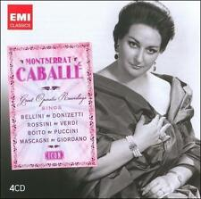 Icon: Montserrat Caballe (4 Discs, Box Set EMI Classics Import, AM)