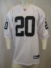 AUTH. NFL DARREN McFADDEN #20 RAIDERS JERSEY SZ 52, SEWN IN LOGOS VIC-THOR1