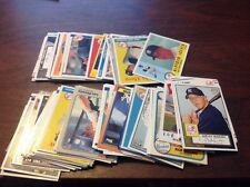 100 different New York Yankees cards Aceves to Wynegar 1980's to today NM-mint