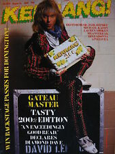 KERRANG 200 - DAVID LEE ROTH/LAUREN SMOKEN/MEANSTREAK