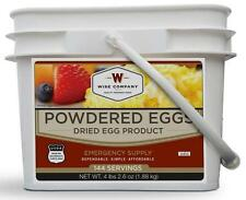 Wise Food ~ Powdered Eggs 144 Servings ~ Camping, Survival, Bug Out,