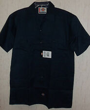 NWT MENS Dickies AUTHENTIC WORKWEAR NAVY BLUE SHIRT SIZE M