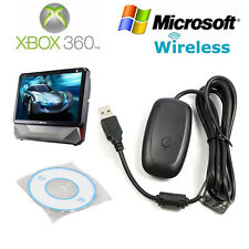 Microsoft Xbox 360 Wireless Receiver Controller Game USB Adapter for Windows PC
