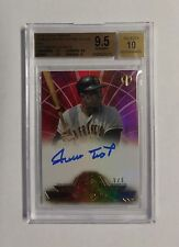 2014 Topps Tribute RED Willie Mays #/5 BGS 9.5 Auto 10 San Francisco Giants